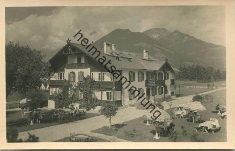 Schönberg im Stubaital - Hotel Pension Jagerhof - Foto-AK - Verlag Karl Dornach Innsbruck