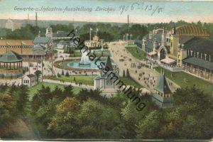 Zwickau - Gewerbe- und Industrie-Ausstellung 1906 - Verlag Ottmar Zieher München - gel. 1906