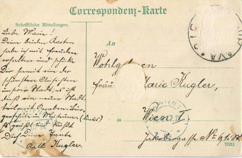 Iglau - Neuer Stadtteil - gel. 1907 1