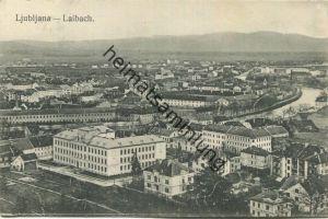 Ljubljana Laibach - Verlag L. J. Fröhlich Laibach gel. 1913