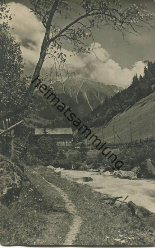 Zillergrund - Mayrhofen - Zillertal - Foto-AK (E24903)