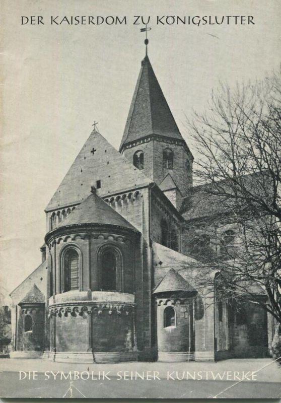 Der Kaiserdom zu Königslutter 1968 - 24 Seiten mit 15 Abbildungen - Herausgeber: Vorstand der Stiftskirchengemeinde