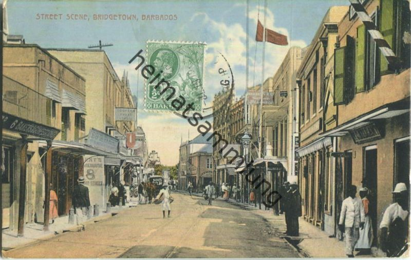 Barbados - Bridgetown - Verlag W. L. Johnson & Co Ltd Barbados