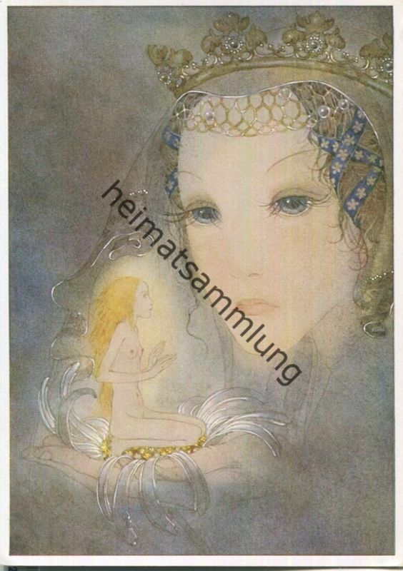 Sulamith Wülfing - Traum - Serie 7 Bild 1 1936 - Sulamith Wülfing-Verlag Wuppertal-Elberfeld