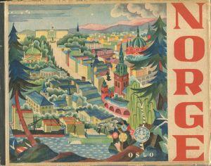 Norge 1932 - 64 Seiten mit 60 Abbildungen - Cover designed by Sverre Pettersen - Text: Englisch Deutsch Französisch