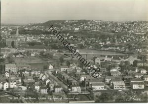 Trondheim - Utsikt fra Fridtjof Nansens vei - Foto-Ansichtskarte 50er Jahre - Verlag Knut Aune Trondheim