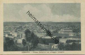Eritrea - Asmara - Chiesa Cattolica nel villaggio indigeno