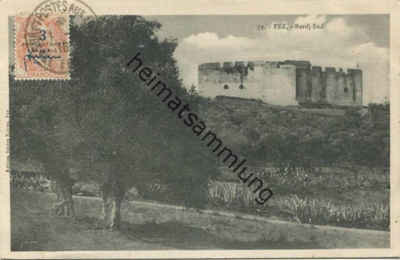 Fez - Bordj-Sud gel. 1916