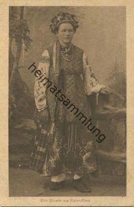 Eine Bäuerin aus Kleinrussland - Feldpost gel. 1917