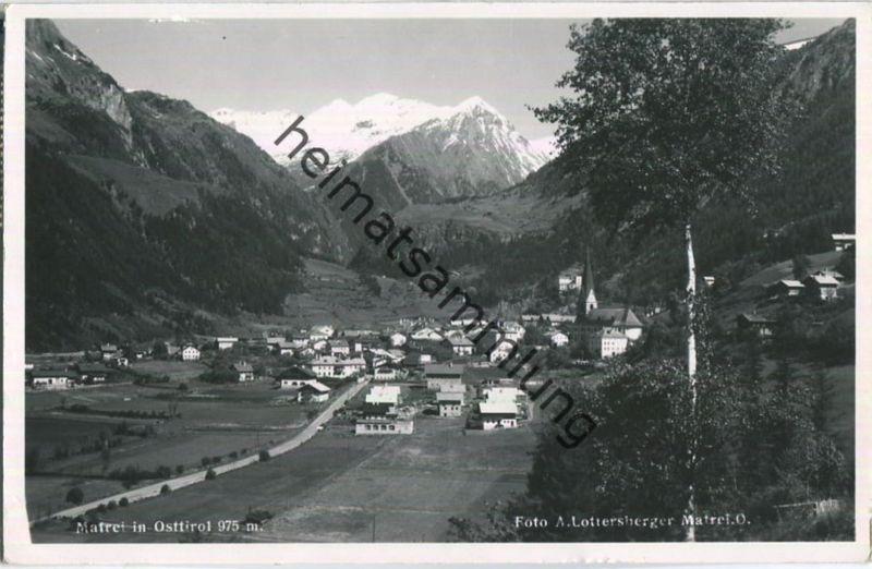 Matrei in Osttirol - Foto-Ansichtskarte