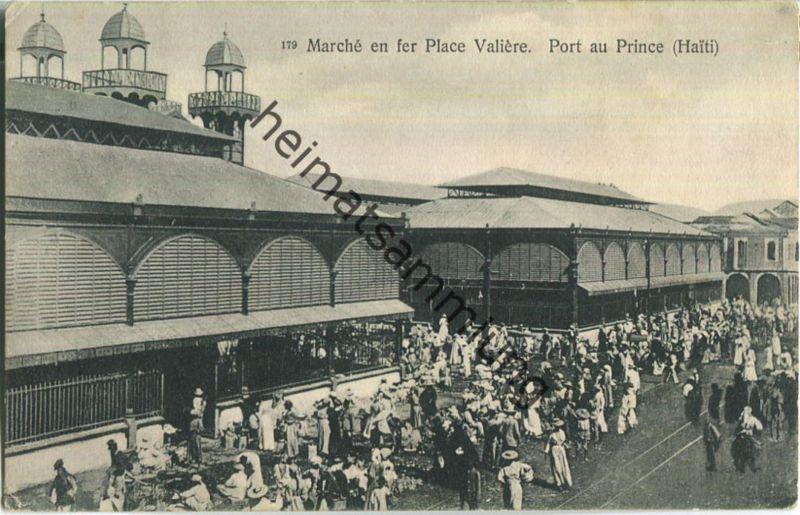 Haiti - Port au Prince - Marche en fer Place Valiere - Verlag Pharmacie Central d'Haiti