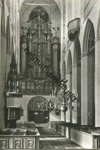 Stralsund - Marienkirche - Orgel - Foto-AK - Verlag Bild und Heimat Reichenbach