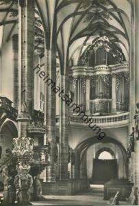 Freiberg - Silbermann-Orgel - keine AK-Einteilung