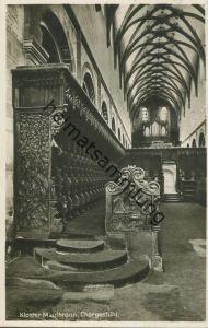 Maulbronn - Kloster - Chorgestühl - Orgel - Foto-AK - Bahnpost gel. 1934