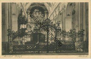 Amorbach - Abteikirche - Orgel - Verlag Wilh. Gerling Darmstadt gel. 1930