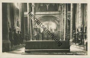 Innsbruck - Hofkirche - Foto-AK - Verlag Wilhelm Stempfle Innsbruck