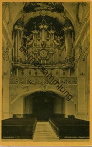 Amorbach i. O. - Abteikirche - Orgel - Verlag M. Fahs Amorbach