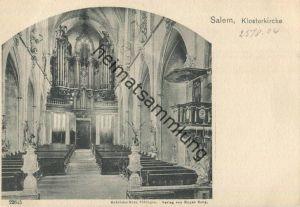 Salem - Klosterkirche - Orgel - Verlag Gebrüder Metz Tübingen