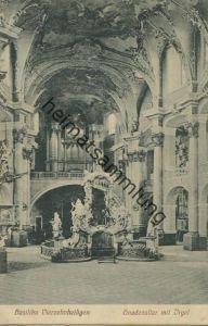 Bad Staffelstein - Vierzehnheiligen - Basilika - Gnadenaltar mit Orgel gel. 1912