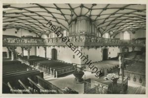 Freudenstadt - Ev. Stadtkirche - Orgeleck - Foto-AK - Verlag G. Schnitzler Freudenstadt