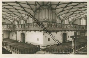 Freudenstadt - Ev. Stadtkirche - Orgeleck - Foto-AK - Verlag Schöning & Co Lübeck