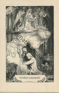 Te deum laudamus - Rud. Schaefer Postkarte - Stiftungsverlag Potsdam