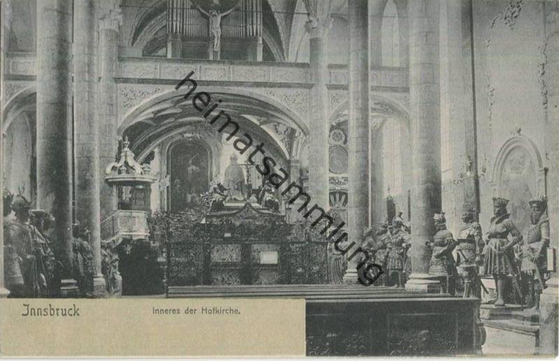 Innsbruck - Hofkirche ca. 1900 0