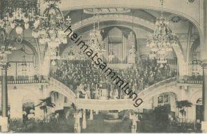 Ostende - Kursaal - Orgel - Rückseite beschrieben