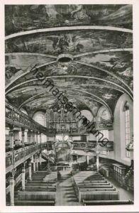 Speyer - Dreifaltigkeitskirche - Orgel - Foto-AK - Verlag Emil Karrer Speyer - Rückseite beschrieben