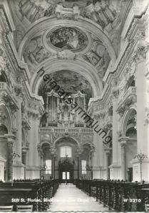 St. Florian - Orgel - Foto-AK Grossformat - Verlag Prof. Gustav Fenz Wien