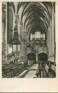 Leipzig - Thomaskirche - Orgel - Foto-AK - Verlag VEB Reprocolor Leipzig - gel. 1954