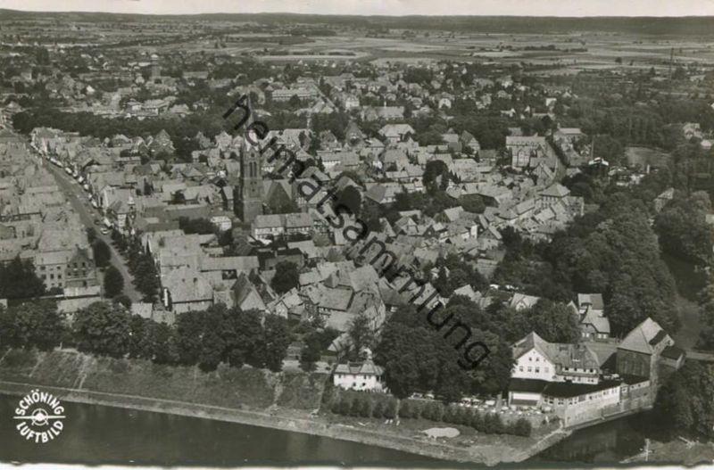 Nienburg - Foto-AK 50er Jahre - Verlag Schöning & Co Lübeck