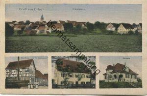 Orlach - Handlung von Fr. Baumann - Pfarrhaus - Rathaus - Verlag Wilh. Klemm Schw. Hall gel. 1920