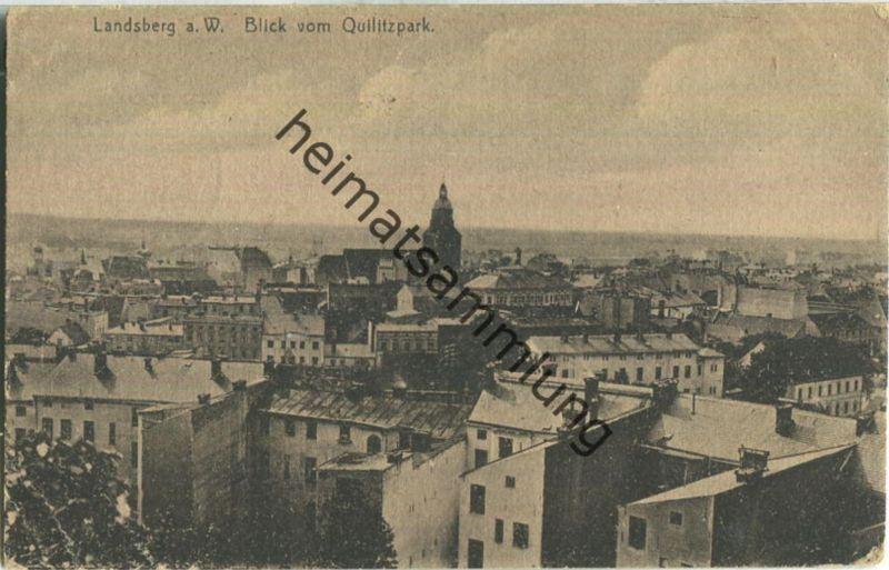 Gorzow Wielkopolski - Landsberg an der Warthe - Verlag Richard Schmidt Landsberg