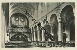 Konstanz - Münster - Orgel - Foto-AK - Verlag H. Sting Tübingen