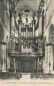 Saint-Omer - Basilique - Le grande orgue