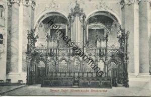 Ottobeuren - Klosterkirche - Grosse Orgel - Verlag Gebr. Metz Tübingen