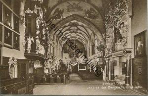 Schleiz - Bergkirche - Orgelseite - Foto-AK - Verlag Trinks & Co Leipzig