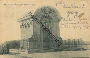 Le Bourget - Seine-Saint-Denis - Monument (30 Octobre 1870) - gel. 1906