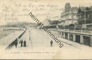 Le Havre - Le Boulevard Maritime et la Heve - gel. 1903