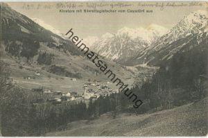 Klosters - Silvrettagletscher vom Cayadürli aus - Verlag Photo-Artikel Büchi Klosters