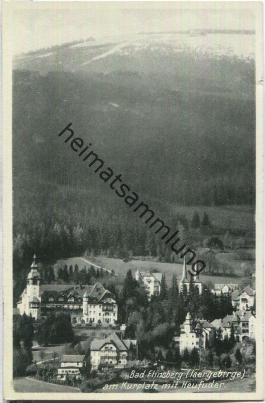Swieradow-Zdroj - Bad Flinsberg - Kurplatz mit Heufuder - Foto-Ansichtskarte - Verlag Albert Ley Bad Flinsberg