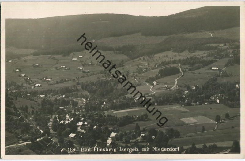 Swieradow-Zdroj - Bad Flinsberg - Niederdorf - Foto-AK - Verlag WW