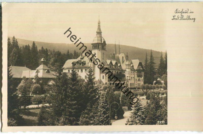 Swieradow-Zdroj - Bad Flinsberg - Kurhaus - Foto-AK - Verlag F. Wagner Söhne Zittau