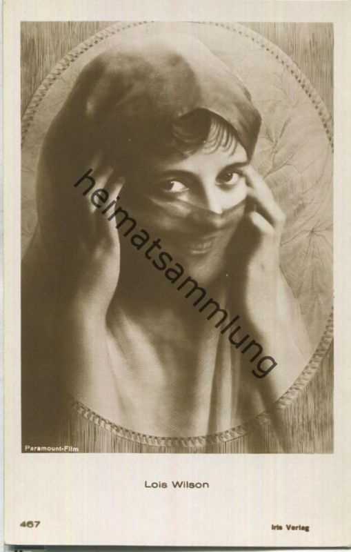 Lois Wilson - Verlag Iris / Amag Albrecht & Meister AG Berlin Nr. 467