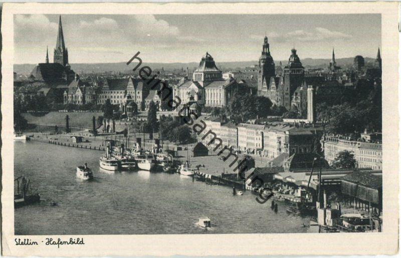 Szczecin - Stettin - Hafen - Verlag Schöning & Co Lübeck