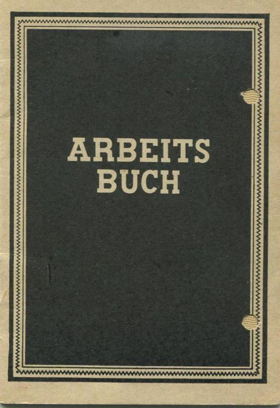 DDR - Arbeitsbuch 60er Jahre