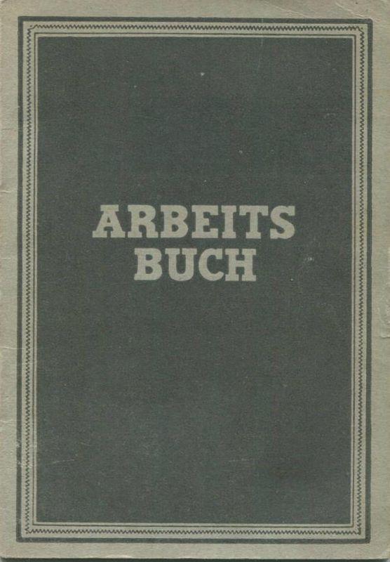 DDR - Arbeitsbuch 1951