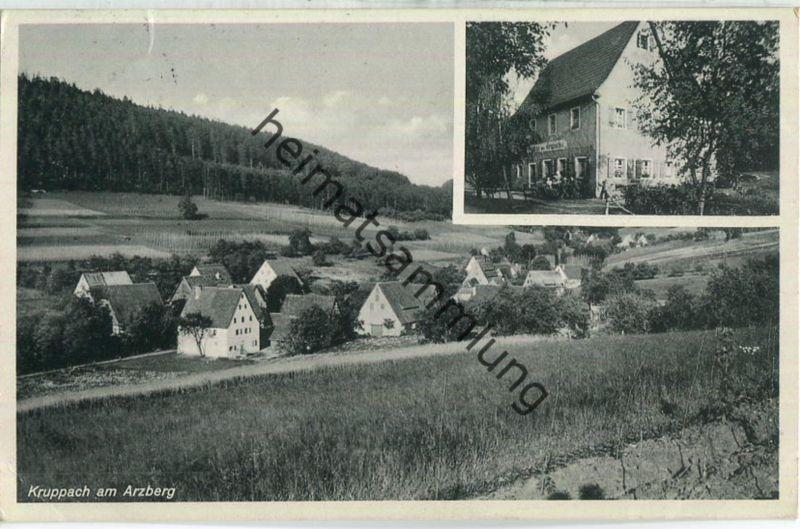 Engelthal - Kruppach - Touristeneinkehr Kruppachtal Besitzer Gg. Söhnlein - Verlag Photo-Müller Hersbruck
