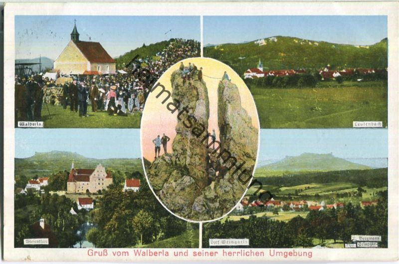 Walberla - Leutenbach - Wiesenthau - Verlag Georg Reinhold Erlangen